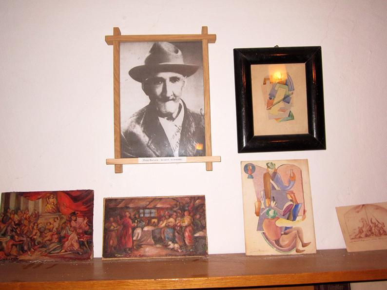 Експозиція у музеї Осипа Васьківа.