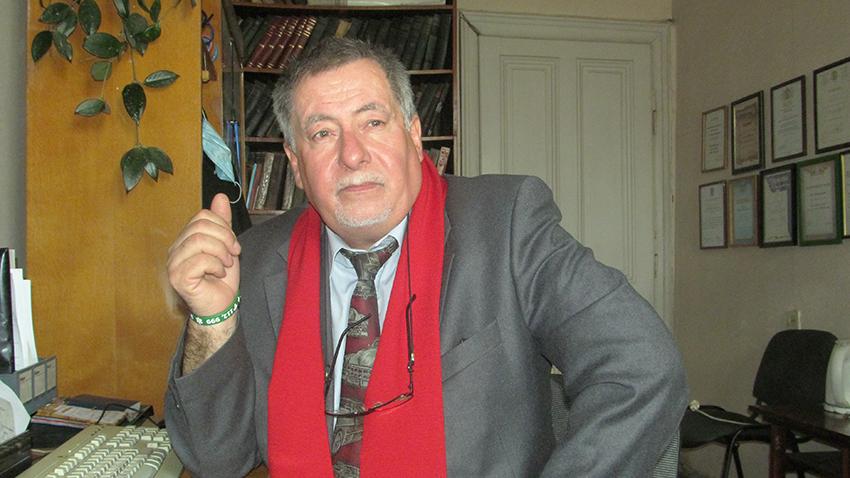 Професор Ярослав Мельник у «Галичині».