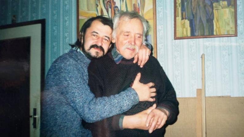 Богдан Бринський та Опанас Заливаха (праворуч).