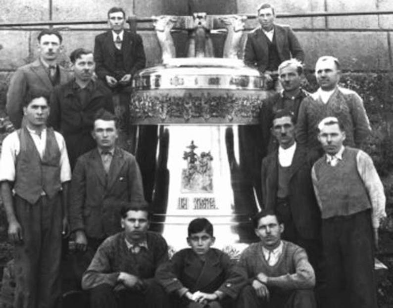 Працівники ливарні Фельчинських у місті Калуші (фото з архіву).