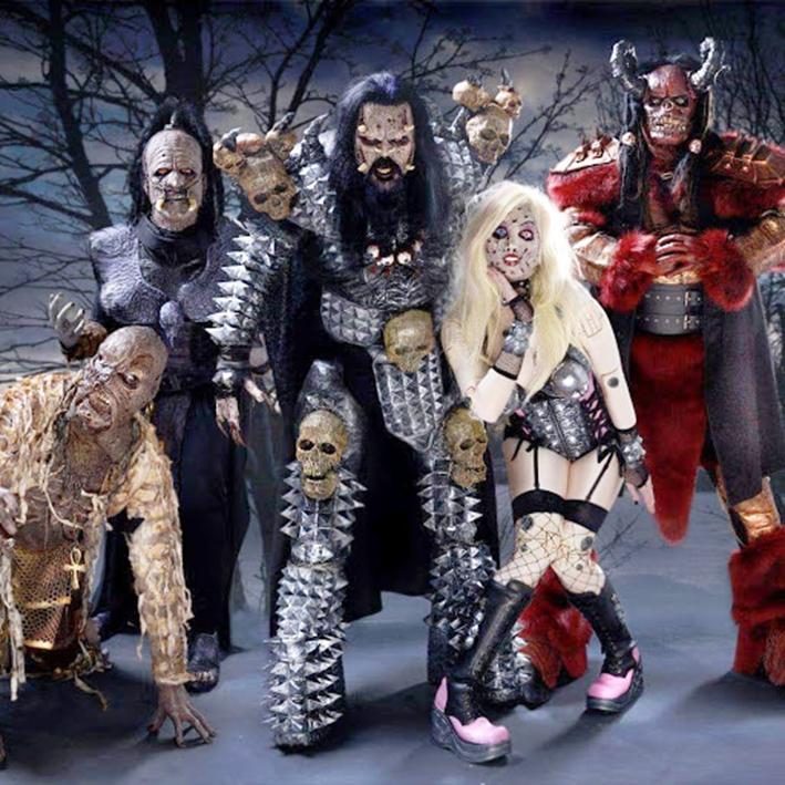 """Фінська рок-група """"LORDI"""", яка перемогла на пісенному конкурсі """"Євробачення-2006""""."""