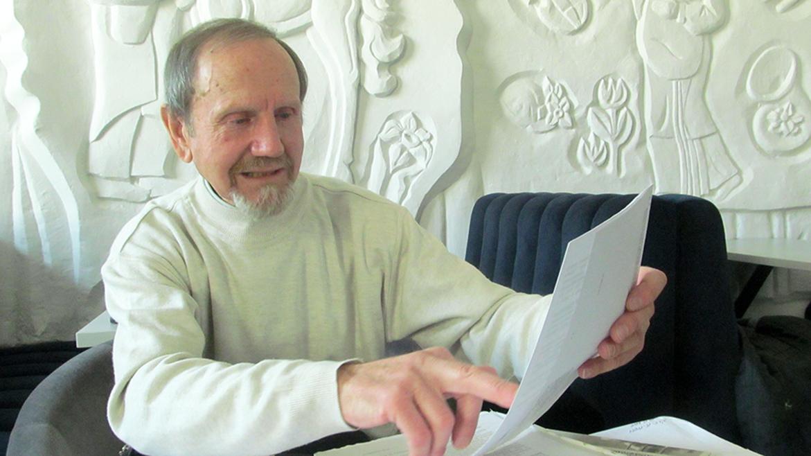 Голова громадської екологічної організації «Зелений рух «Карпати» еколог Михайло Довбенчук.