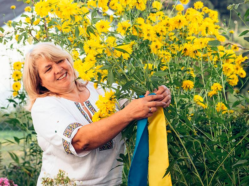 Письменниця Оксана Пронюк-Кузьма.