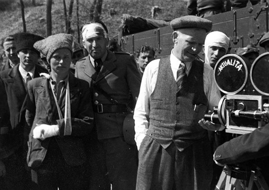 К.-Г. Лисюк – меценат музею, автор документального фільму про події в Карпатській Україні  1938–1939 рр.